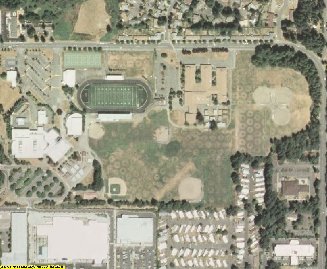 Thurston County, WA aerial photography detail