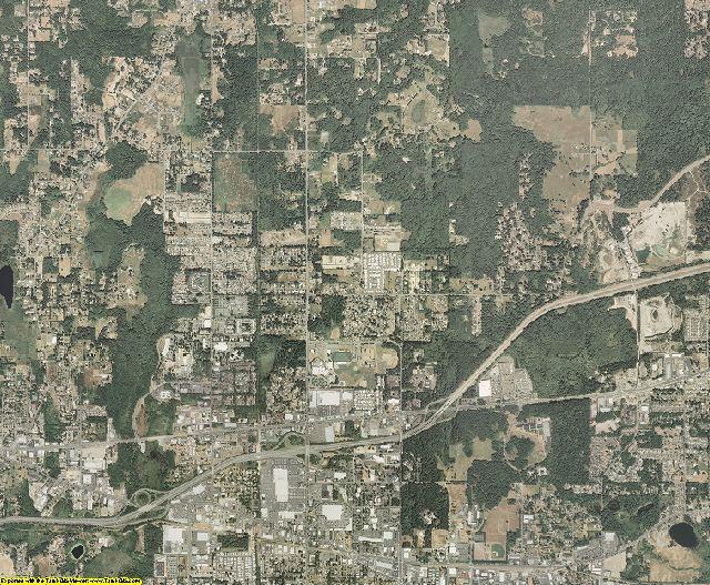 Thurston County, Washington aerial photography