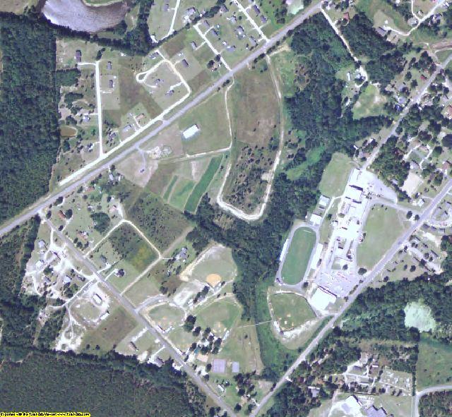Treutlen County, GA aerial photography detail