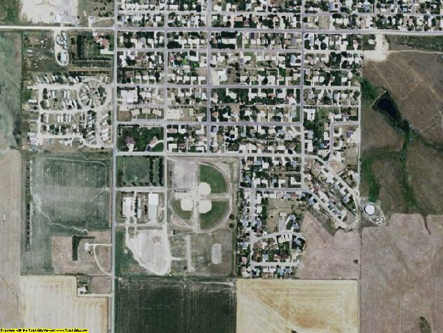 Tripp County, SD aerial photography detail