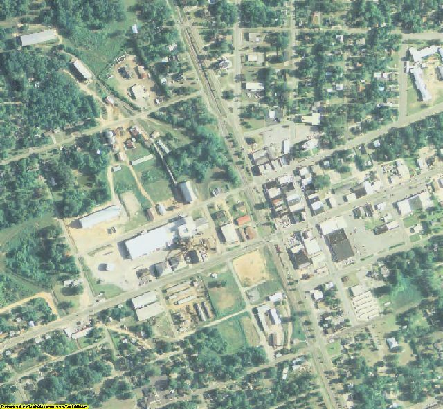 Turner County, GA aerial photography detail