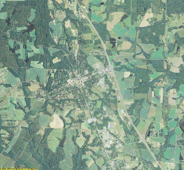 Turner County, Georgia aerial photography