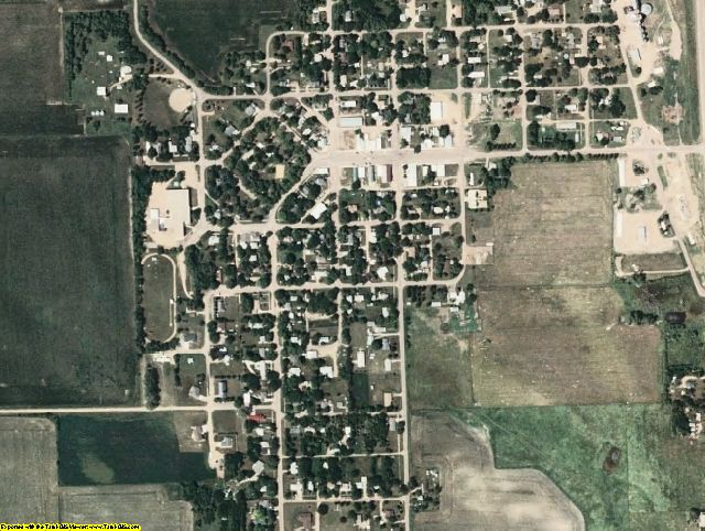 Turner County, SD aerial photography detail