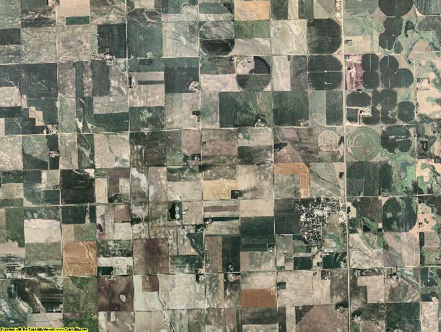 Turner County, South Dakota aerial photography