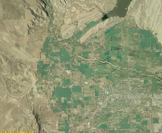 Uintah County, Utah aerial photography