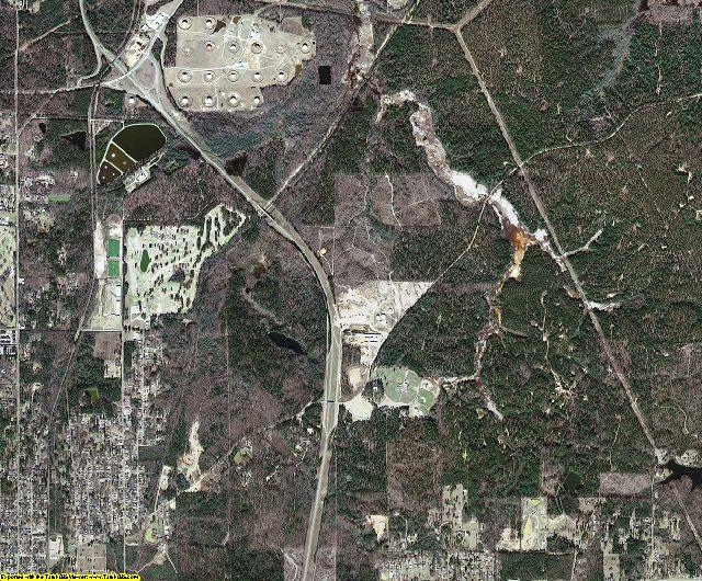 Union County, Arkansas aerial photography