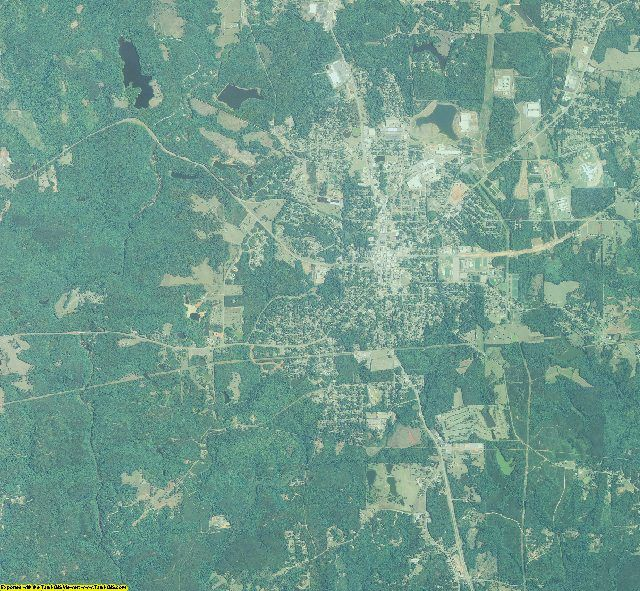Upson County, Georgia aerial photography