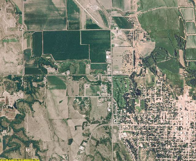 Valley County, Nebraska aerial photography