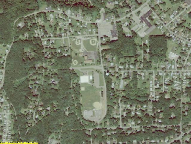 Venango County, PA aerial photography detail