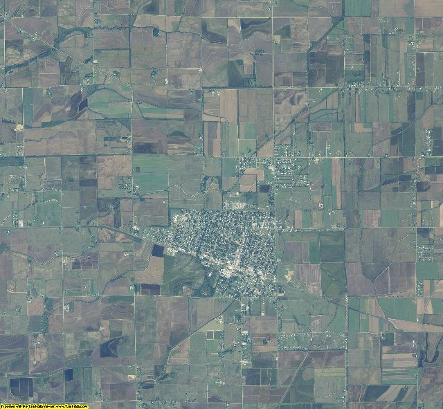Vermilion County, Louisiana aerial photography