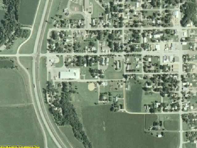 Wabasha County, MN aerial photography detail