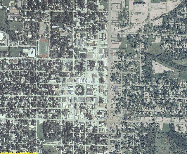 Warren County, Iowa aerial photography