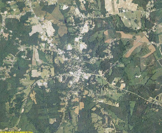 Warren County, North Carolina aerial photography