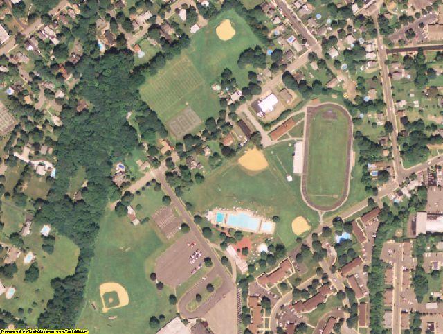 Warren County, NJ aerial photography detail