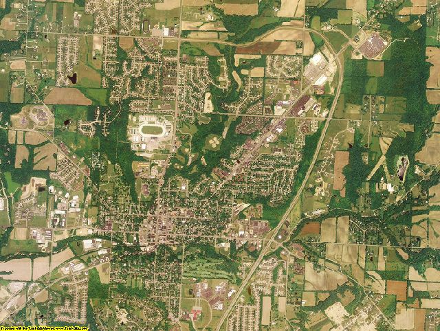 Warren County, Ohio aerial photography