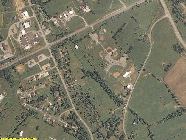 Washington County, KY aerial photography detail