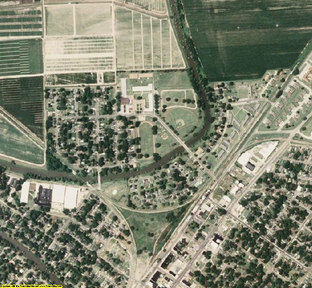 Washington County, MS aerial photography detail