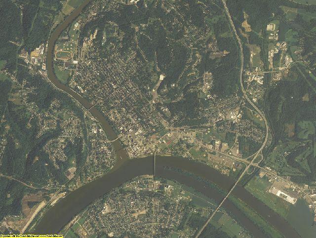 Washington County, Ohio aerial photography