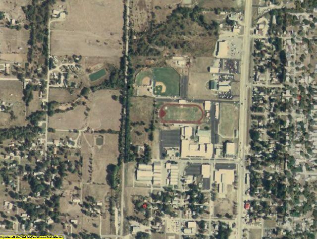 Washington County, OK aerial photography detail