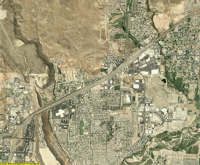Washington County, Utah aerial photography