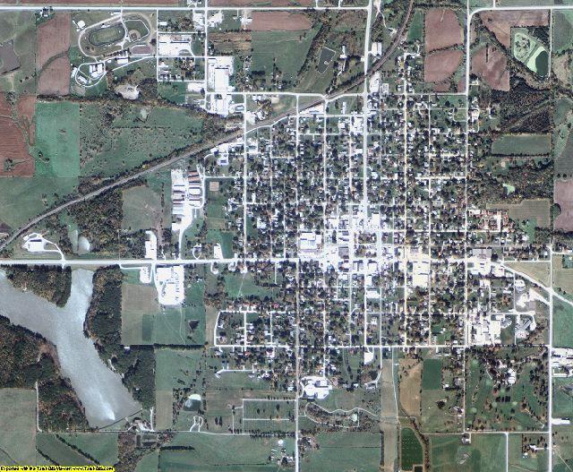 Wayne County, Iowa aerial photography