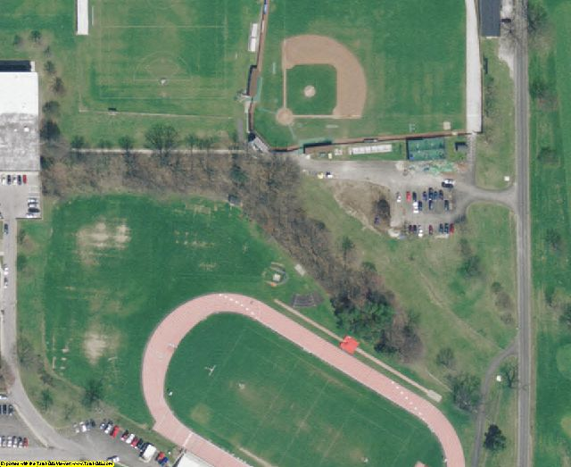 Wayne County, OH aerial photography detail