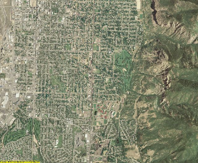 Weber County, Utah aerial photography