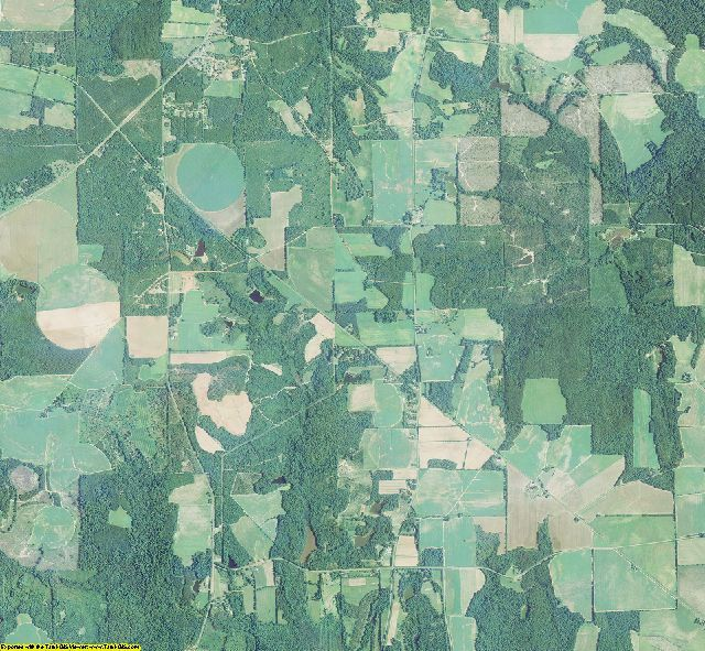 Webster County, Georgia aerial photography