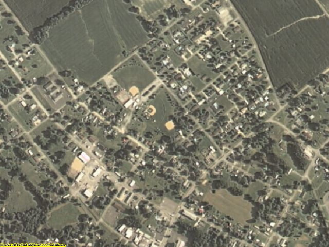 Webster County, KY aerial photography detail