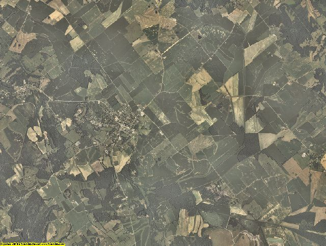 Webster County, Kentucky aerial photography