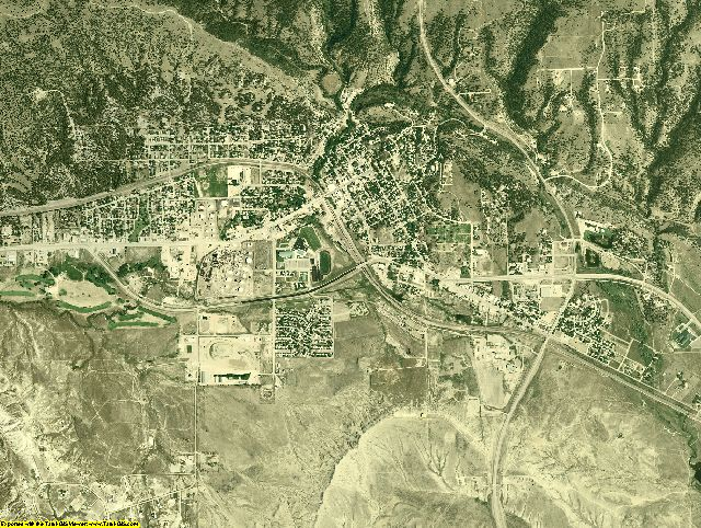 Weston County, Wyoming aerial photography