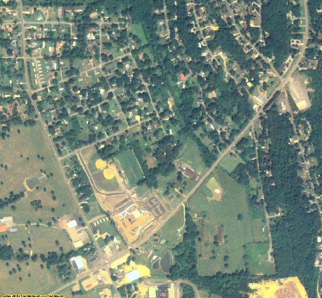 Whitfield County, GA aerial photography detail