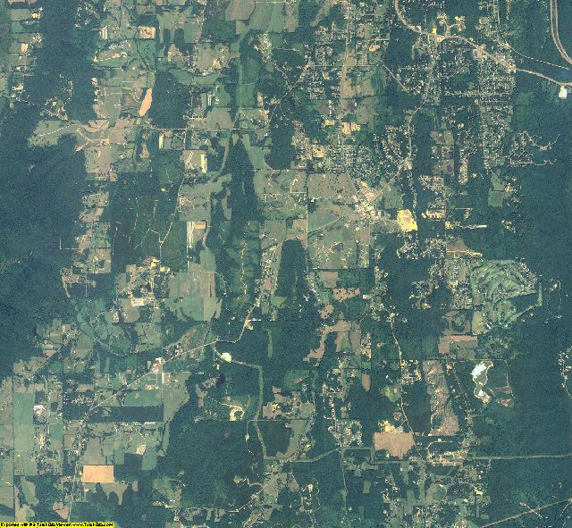 Whitfield County, Georgia aerial photography