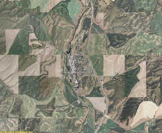 Whitman County, Washington aerial photography
