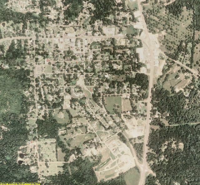 Wilkinson County, MS aerial photography detail