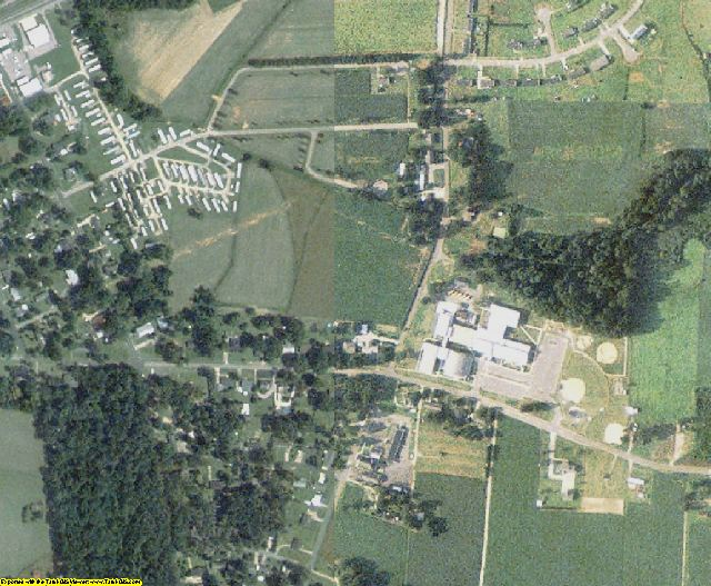 Wilson County, NC aerial photography detail