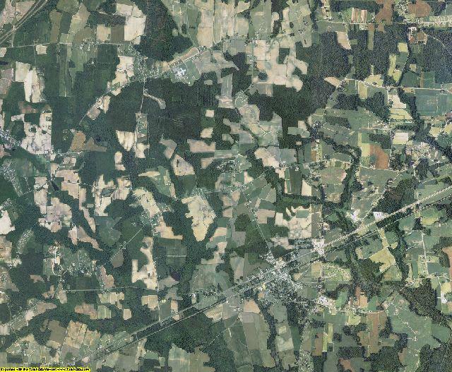 Wilson County, North Carolina aerial photography