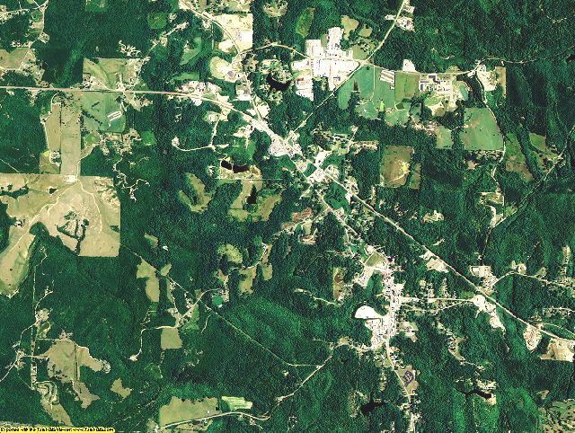 Winston County, Alabama aerial photography