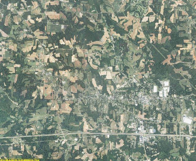 Yadkin County, North Carolina aerial photography