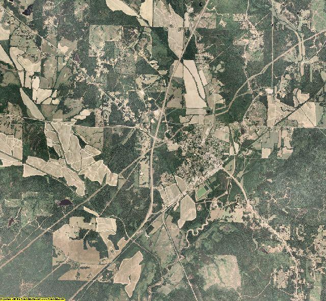 Yalobusha County, Mississippi aerial photography