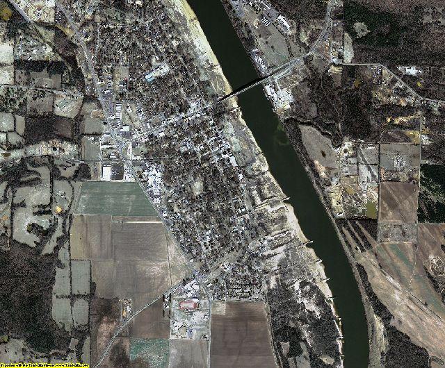 Yell County, Arkansas aerial photography