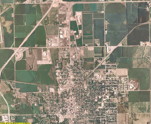 York County, Nebraska aerial photography