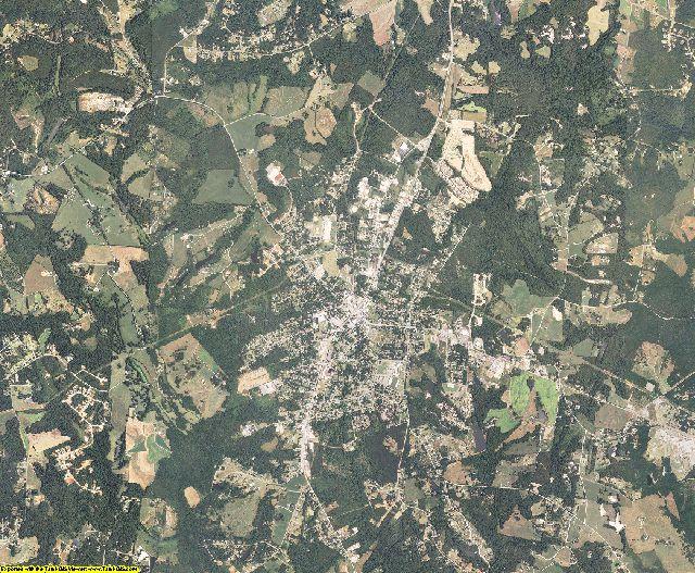 York County, South Carolina aerial photography