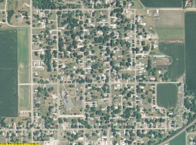Adams County, Illinois aerial photography
