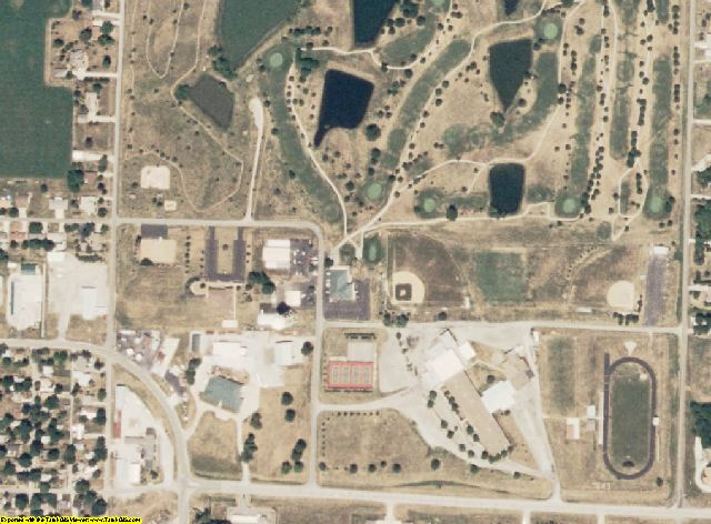 Andrew County, MO aerial photography detail