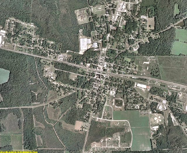 Atkinson County, Georgia aerial photography