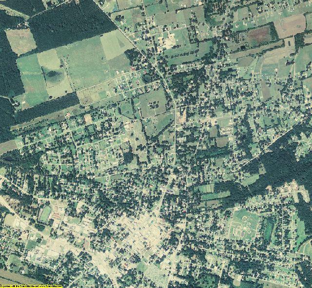 Avoyelles County, Louisiana aerial photography