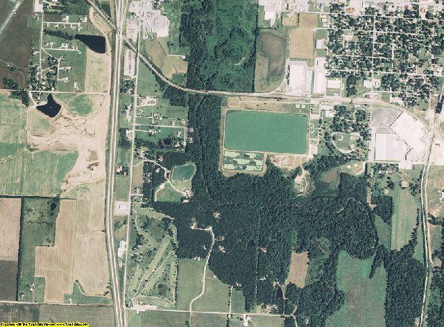 Barton County, Missouri aerial photography