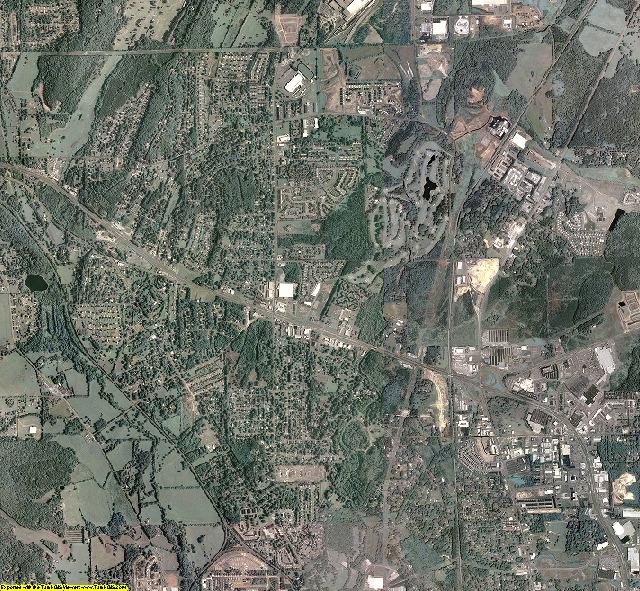 Bartow County, Georgia aerial photography