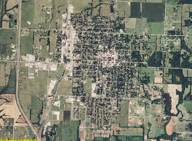 Bates County, Missouri aerial photography